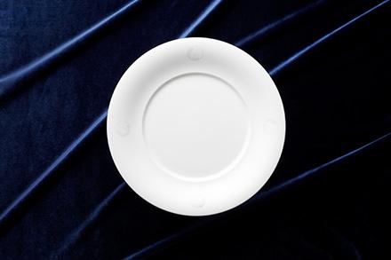 31cm Deep Design Plate (L) Logo