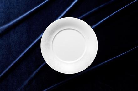 28cm Deep Design Plate (S) Sakura