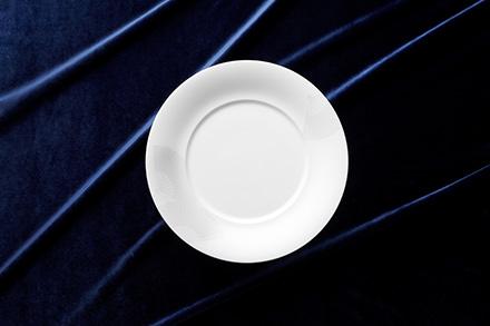 28cm Deep Design Plate (S) Fan